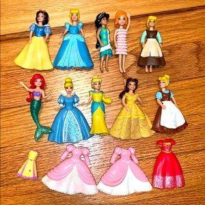 Polly pocket Disney princesses 👸🏽